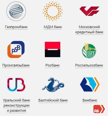 Список партнеров Альфа-Банка. Снятие наличных проходит на привычных условиях