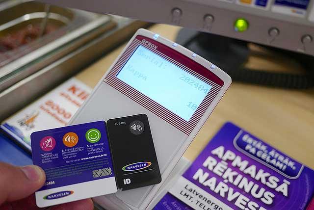 Бесконтактная оплата банковской картой
