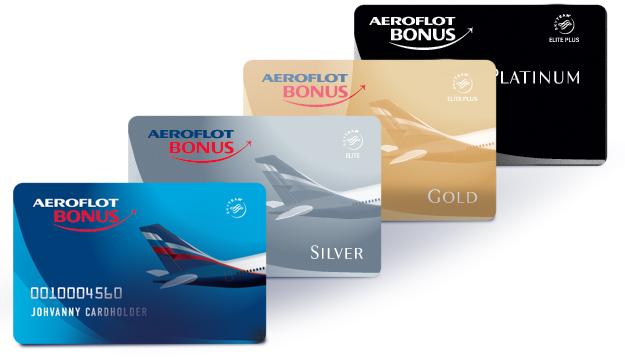 Виды карт Aeroflot Bonus от Сбербанка