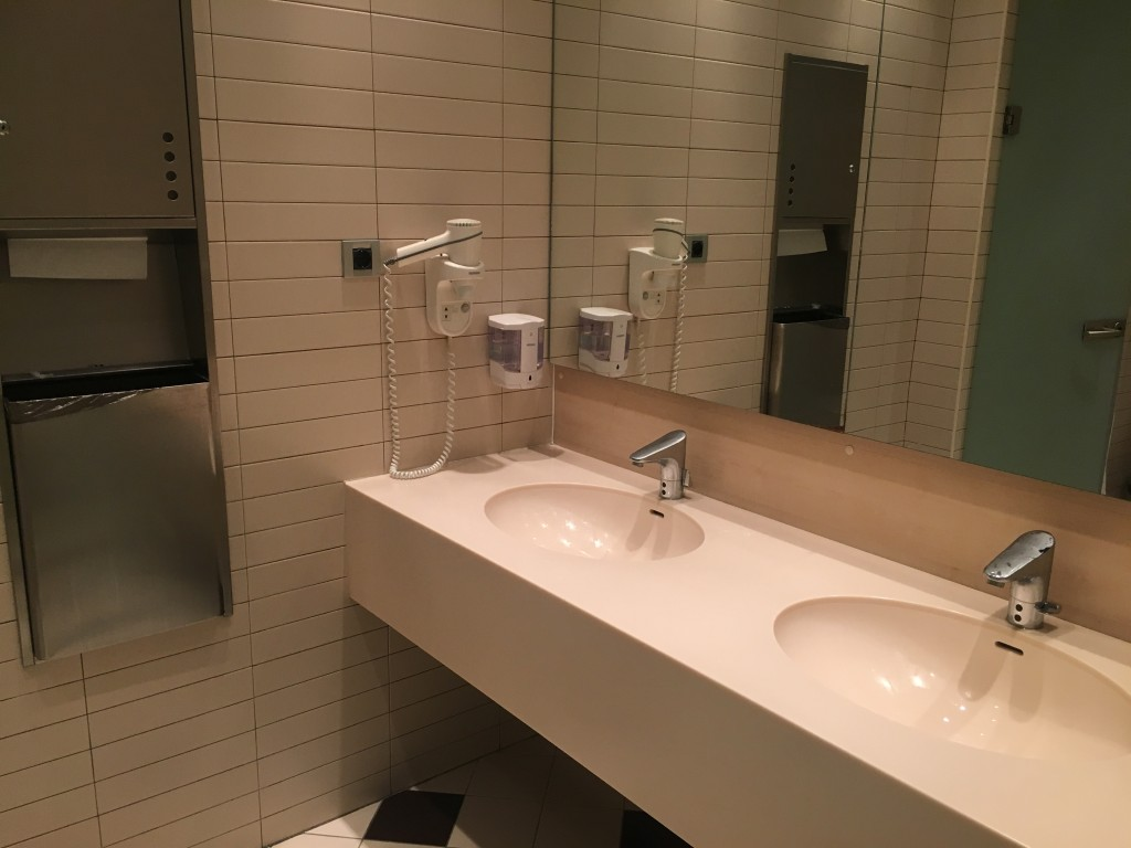 Бизнес зал Домодедово — туалет